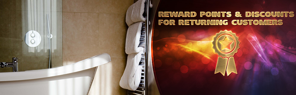 Reward Points & Discounts to Returning Customers
