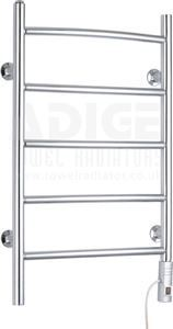 Picture of 500mm Wide 800mm High Electric Towel Rail in Chrome