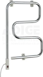 Picture of 400mm Wide 740mm High Electric Towel Rail in Chrome