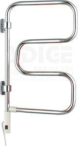 Picture of 400mm Wide 740mm High Swivel Electric Towel Rail in Chrome
