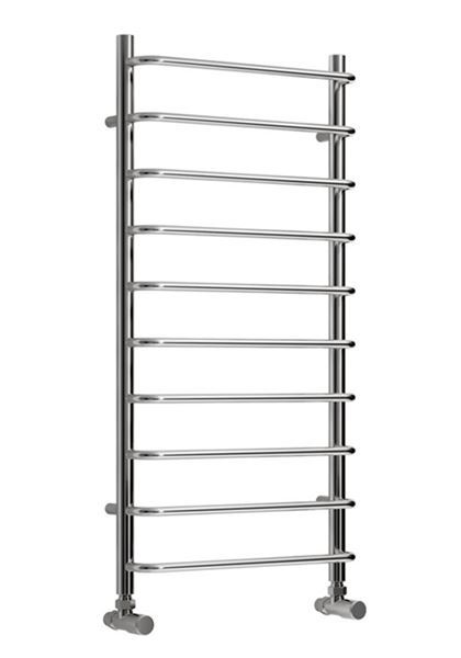 Picture of ALIANO 500mm Wide 500mm High Chrome Designer Towel Radiator