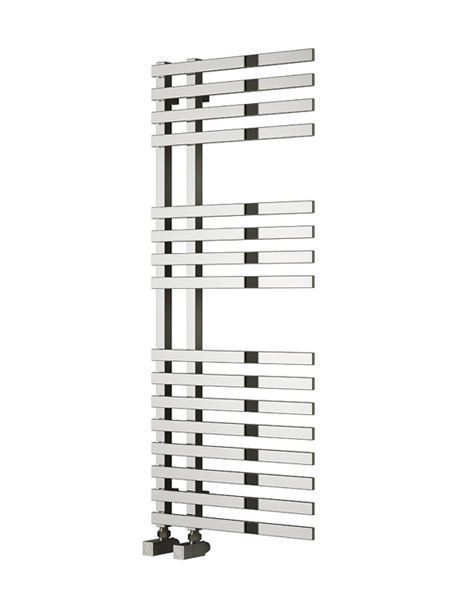 Picture of FELINO 500mm Wide 775mm High Chrome Designer Towel Radiator