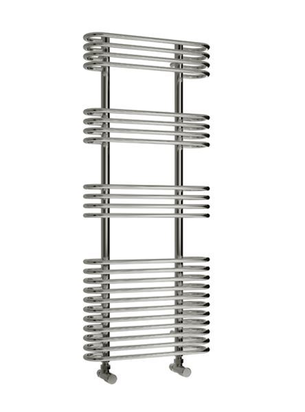 Picture of MIRUS 500mm Wide 1200mm High Chrome Designer Towel Radiator
