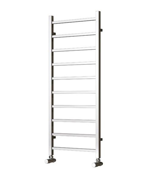 Picture of SERENA 500mm Wide 500mm High Chrome Designer Towel Radiator