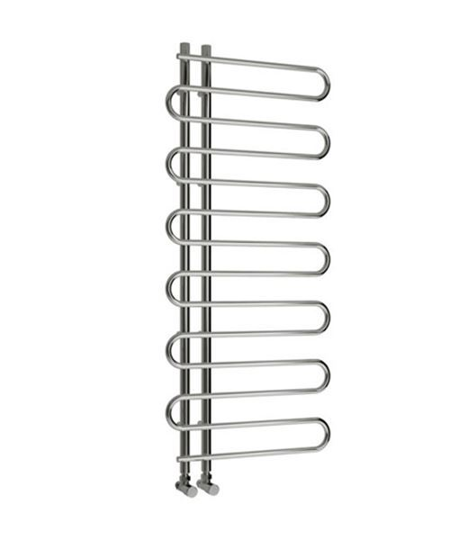 Picture of JESI 600mm Wide 1400mm High Chrome Designer Towel Radiator