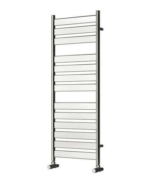 Picture of CARPI 300mm Wide 800mm High Chrome Designer Towel Radiator