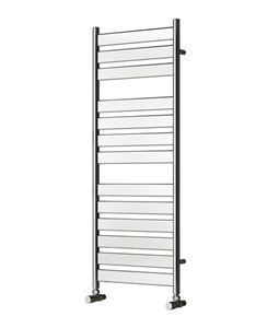 Picture of CARPI 400mm Wide 1200mm High Chrome Designer Towel Radiator