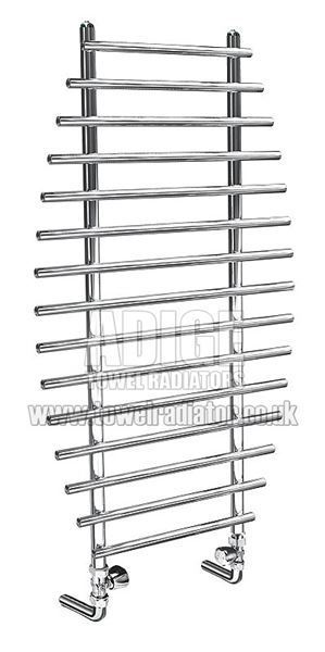 Picture of BIANO 700mm Wide 1200mm mm High Chrome Designer Towel Radiator