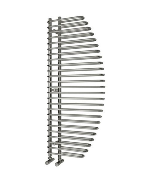 Picture of NOLA 600mm Wide 1400mm High Chrome Designer Towel Radiator