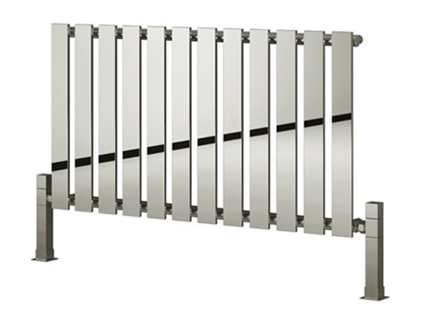 Picture of PIENZA 655mm Wide 550mm High Designer Bathroom Radiator - Chrome