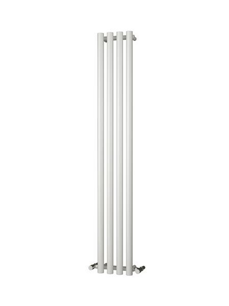 Picture of ORIA 270mm Wide 1800mm High WHITE Designer Bathroom Radiator