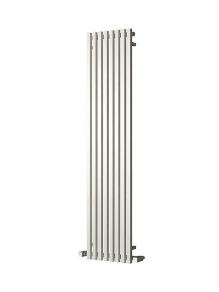 Picture of CASCIA 240mm Wide 1800mm High Designer Bathroom Radiator - Vertical White