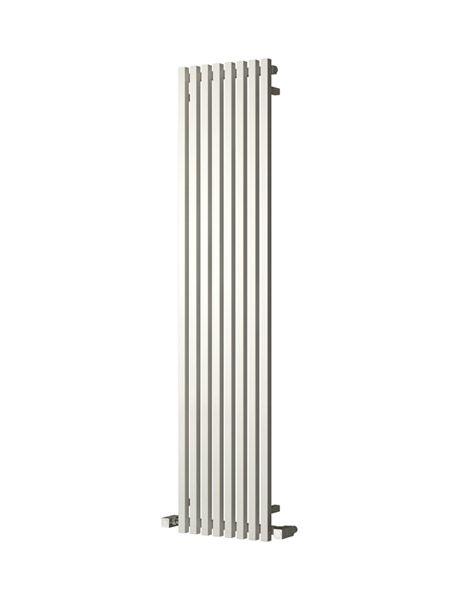 Picture of CASCIA 240mm Wide 1800mm High Designer Bathroom Radiator - Vertical White