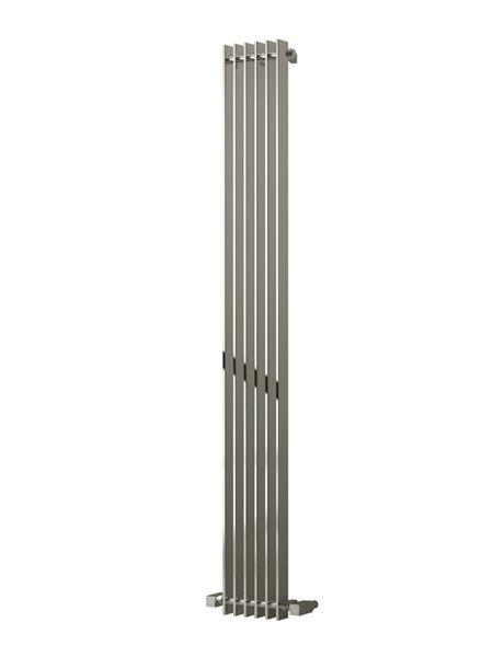 Picture of VENESO 240mm Wide 1800mm High Designer Bathroom Radiator - Vertical Chrome