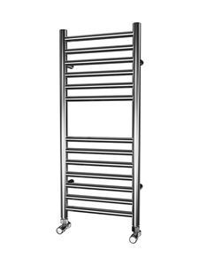 Picture of 350mm Wide 800mm High FLAT Stainless Steel Towel Radiator