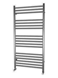Picture of 600mm Wide 1200mm High FLAT Stainless Steel Towel Radiator