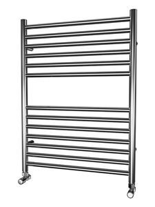 Picture of 600mm Wide 800mm High FLAT Stainless Steel Towel Radiator
