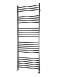 Picture of 600mm Wide 1600mm High FLAT Stainless Steel Towel Radiator