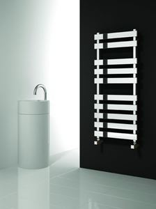 Picture of KREON 500mm Wide 1160mm High Stainless Steel Towel Radiator