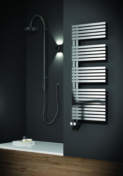 Picture of ENTICE 500mm Wide 770mm High Stainless Steel Towel Radiator