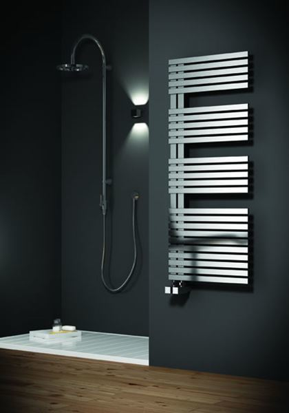 Picture of ENTICE 500mm Wide 1200mm High Stainless Steel Towel Radiator