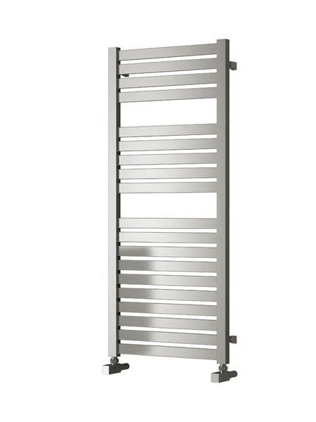 Picture of AOSTA 530mm Wide 1220mm High Stainless Steel Towel Radiator