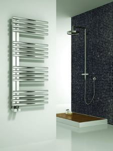 Picture of ADORA 500mm Wide 800mm High Stainless Steel Towel Radiator