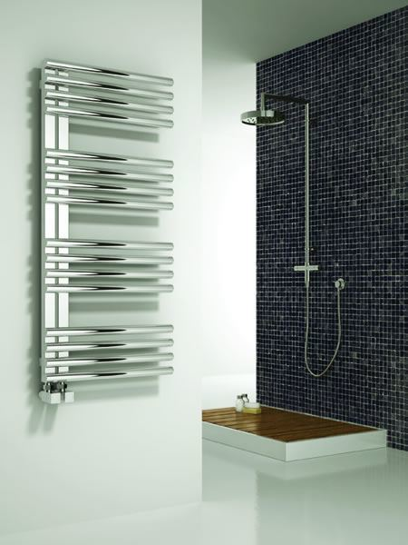 Picture of ADORA 500mm Wide 1106mm High Stainless Steel Towel Radiator