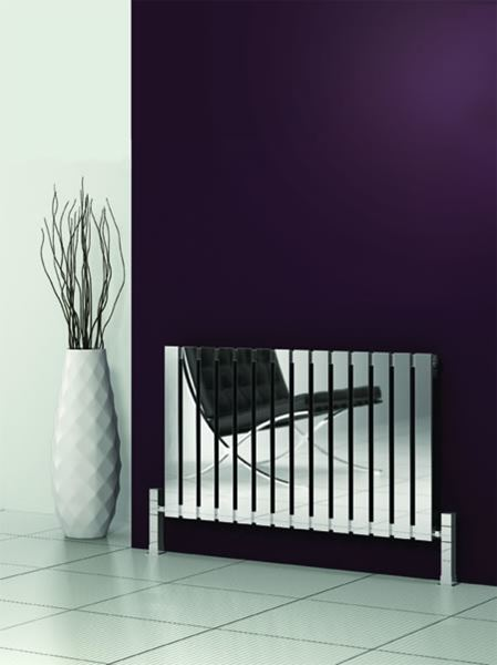 Picture of CALIX 810mm Wide 600mm High Stainless Steel Designer Radiator