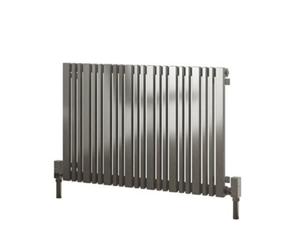 Picture of VERSA 540mm Wide 600mm High Stainless Steel Designer Radiator