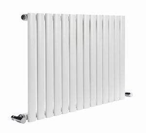 Picture of NEVA 1003mm Wide 550mm High White Radiator - Single