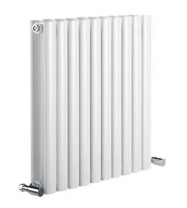 Picture of NEVA 826mm Wide 550mm High White Radiator - Double