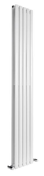 Picture of NEVA 413mm Wide 1500mm High White Radiator - Double