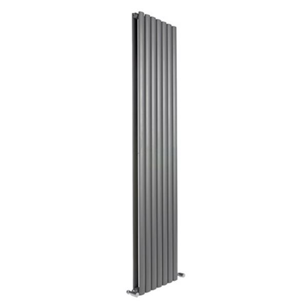 Picture of NEVA 295mm Wide 1500mm High Anthracite Radiator - Double