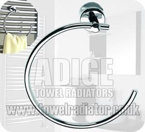 Picture of Towel Rail Ring in Chrome