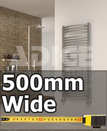 Picture for category 500mm Wide Designer Towel Radiators & Anthracite Towel Rails