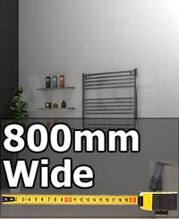 Picture for category 800mm Wide Large Bathroom Towel Radiators & Heated Towel Rails