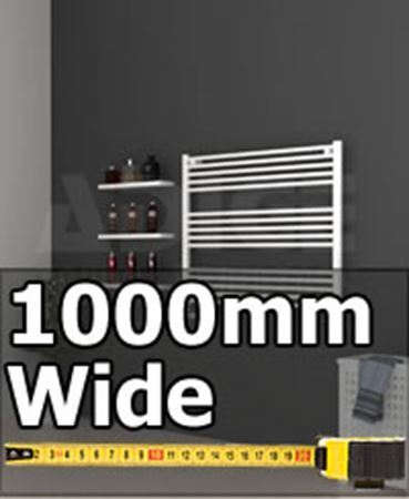 Picture for category 1000mm Wide Under Window Towel Radiators & Bathroom Towel Rails