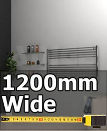 Picture for category 1200mm Wide Horizontal Towel Radiators & Designer Towel Rails