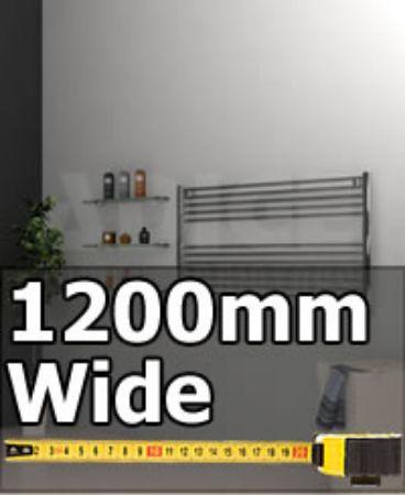 Picture for category 1200mm Wide Horizontal Towel Radiators & Designer Towel Rails