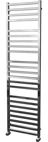 Picture of LEO 500/1800mm Square Tube Stainless Steel Heated Towel Rail