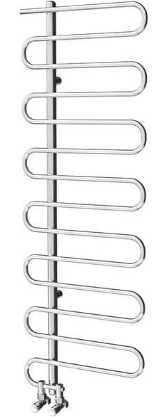 Picture of ROSABELLA 450mm Wide 1310mm High Stainless Steel Designer Towel Rail