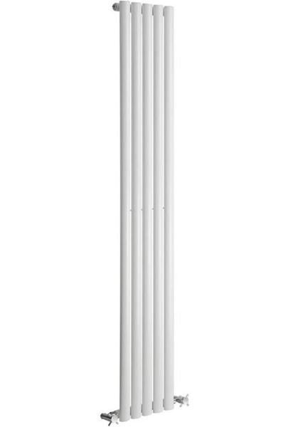 Picture of NEVA 295mm Wide 1500mm High White Radiator - Single