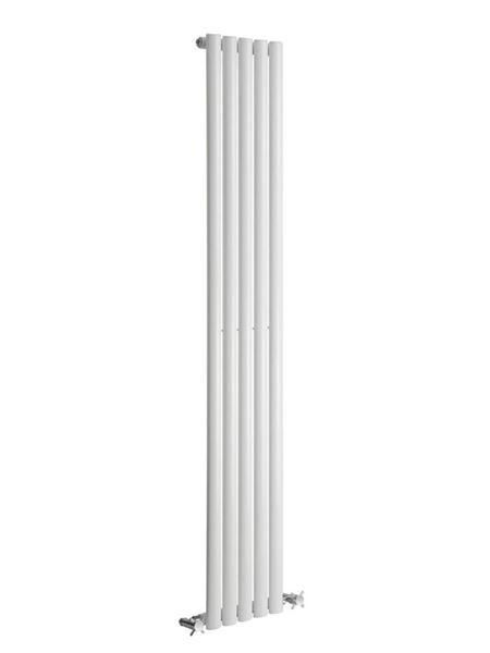 Picture of NEVA 295mm Wide 1800mm High White Radiator - Single