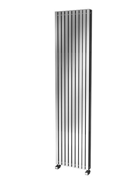 Picture of LUISA 430mm Wide 1800mm High Aluminium Radiator - Oxidised