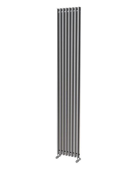 Picture of LOLA 305-1800mm Aluminium Radiator - Oxidised Single