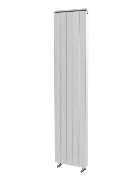 Picture of SAVANNAH 405mm Wide 1865mm High Flat Panel Aluminium Radiator - White