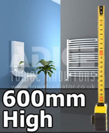 Picture for category 600mm High Designer Bathroom Radiators & Heated Towel Rails