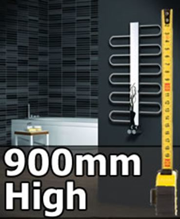 Picture for category 900mm High Heated Towel Rails & Radiators