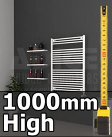 Picture for category 1000mm High Heated Towel Rails & Radiators